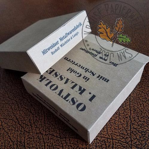 Ostvolk Medal 1st Class - Carton