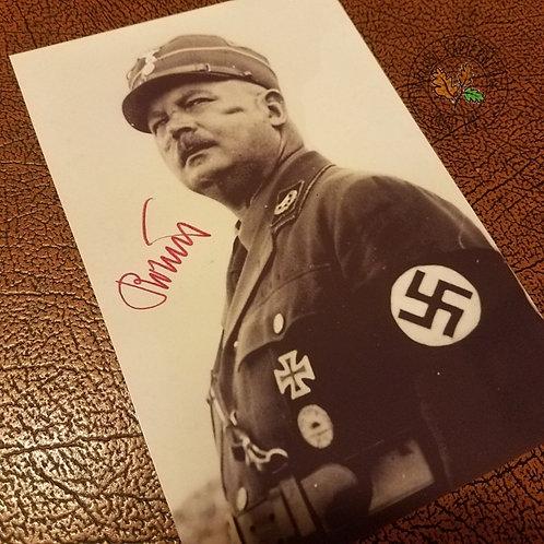 Ernst Röhm - autographed / signed photo - reproduction