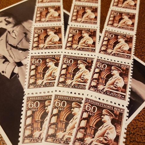 Adolf Hitler Birthday Stamps - Böhmen und Mähren