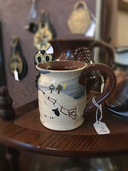 Handmade by Caroline Smith , Ceramic Sheep Mug