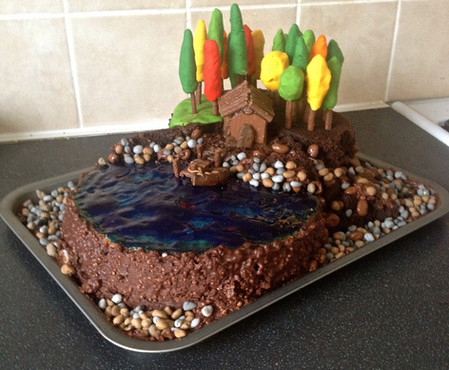 Lake House Cake