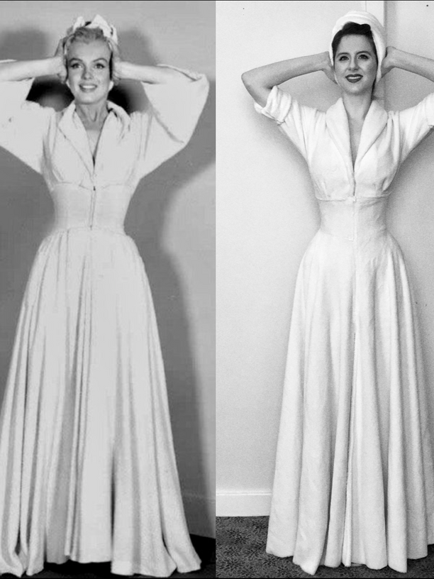 How To Marry A Millionaire Robe (Self Drafted)