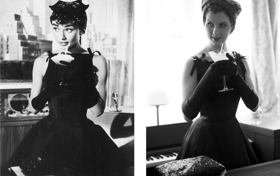 Sabrina Black Dress Costume