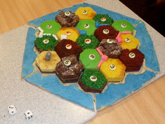 Settlers of Catan Cakes