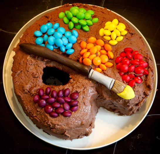 Ally's Artist Cake