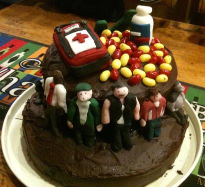 Left 4 Dead Cake