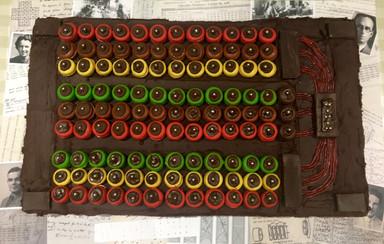 Turing's Bombe Cake