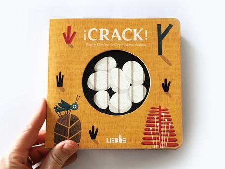 """Libro del día: """"¡Crack!""""¿Qué hay dentro del huevito?"""