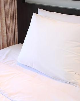 Hotelbett Kissen