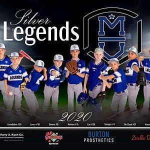 10U Silver Legends