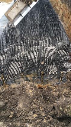 Construction of a cell mattress on the Hajdúsáms bypass