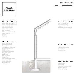 20 - Wall Section