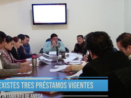 DEUDA PÚBLICA EN AMECA ES MAYOR A 60 MILLONES DE PESOS SEGÚN DOCUMENTOS OFICIALES
