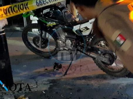 ACCIDENTE EN LA CALZADA ENTRE DOS MOTOCICLETAS DEJA TRES LESIONADOS