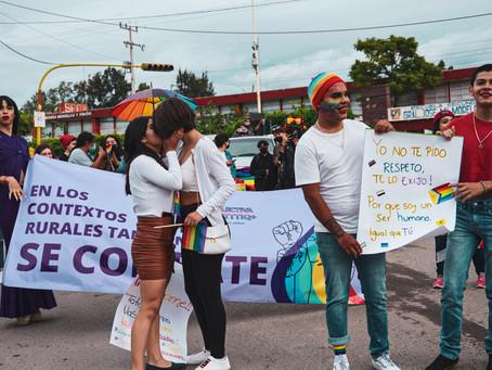 REALIZAN MARCHA DEL ORGULLO LGBTTTIQ POR PRIMERA VEZ EN LA HISTORIA DE AMECA