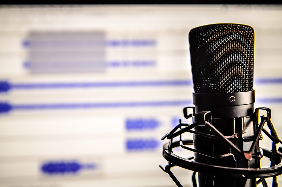 Microphone Audio Editing Voice Over Coaching