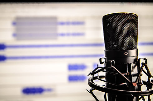 Voice Over Microphone Audio File