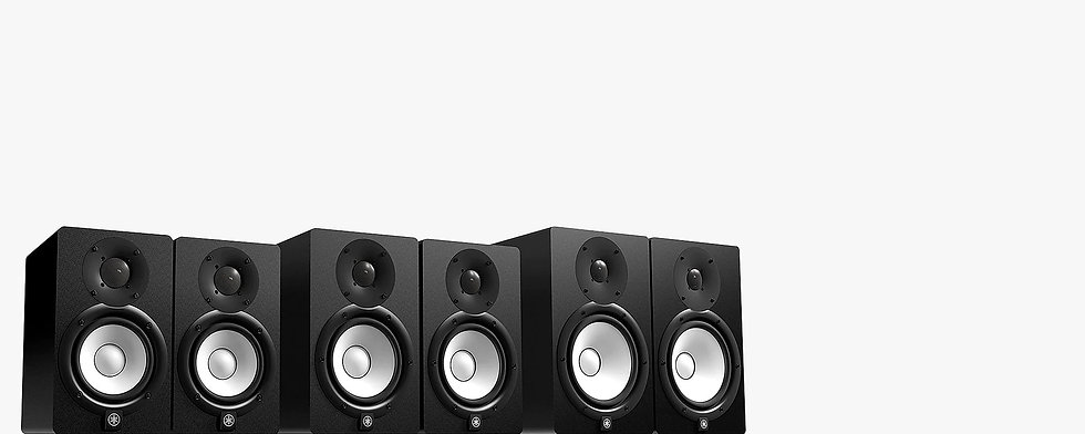 Speakers Studio Monitors Yamaha