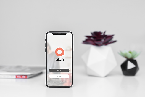 mockup-of-an-iphone-11-pro-standing-by-s