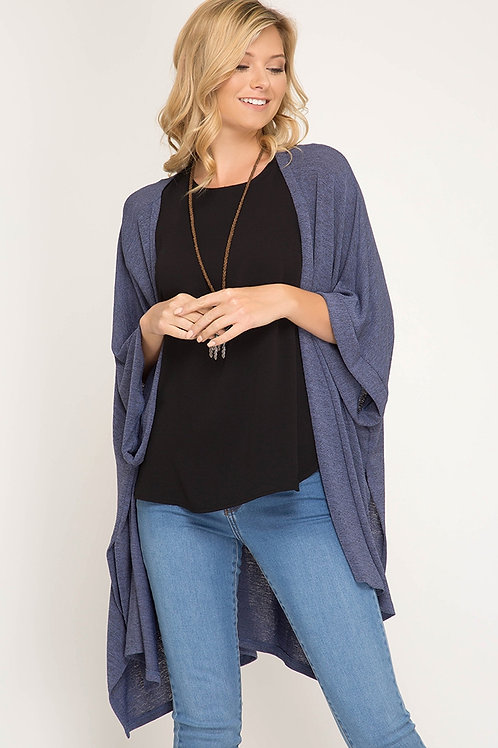 Light Open Knit Cardigan
