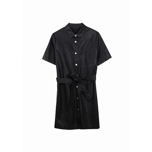 Leather Annae Dress