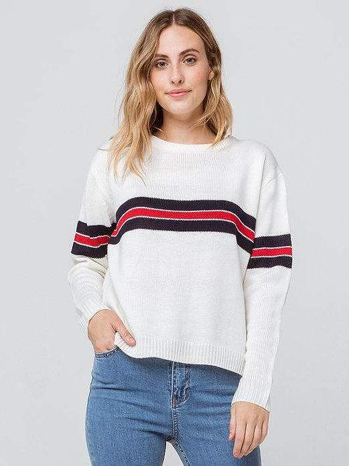 Varsity Striped Sweater