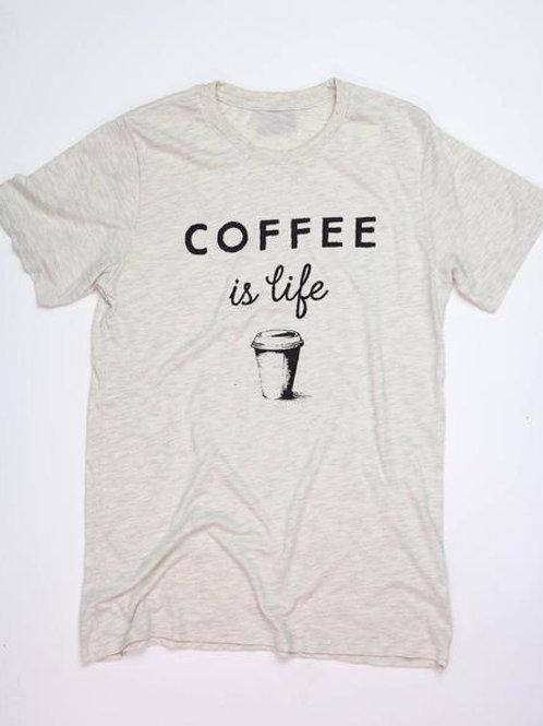 Coffee Is Life Tee