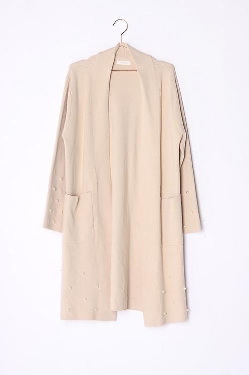 Khaki Pearl Sweater