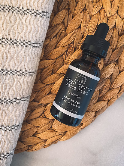 2000 mg Full Spectrum Tincture