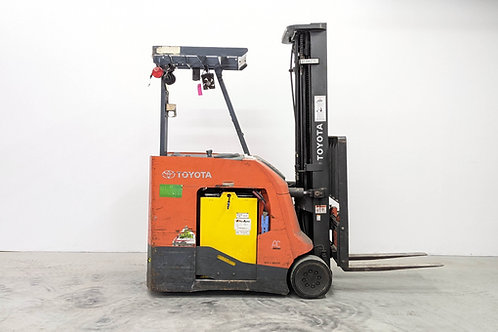 2016 Toyota BNCU20 Electric Forklift 4000 Lb 251 Inch Capacity