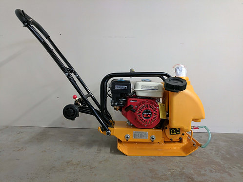 C-60 14 Inch Commercial GX200 Plate Compactor + Wheel Kit + Water Kit
