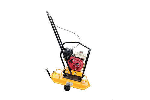 C-100 17 Inch Commercial GX200 Plate Compactor + Reversible Handle