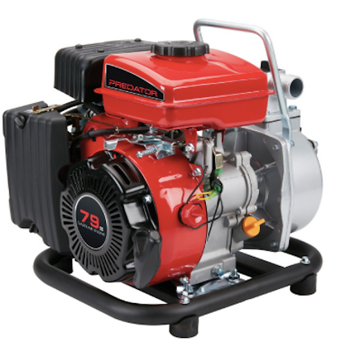 CWP79 - 1 Inch 79cc Gasoline Engine Clear Water Pump - 35 GPM