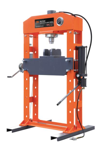 SP75 - 75 Ton Industrial Hydraulic Shop Press
