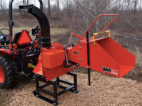 """WM8M 8"""" PTO Wood Chipper - with Auto Infeed"""