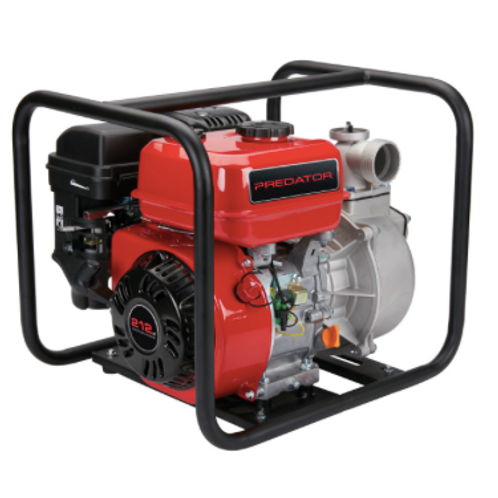 TWP158 - 2 in. 212cc Gasoline Engine Semi-Trash Water Pump - 158 GPM