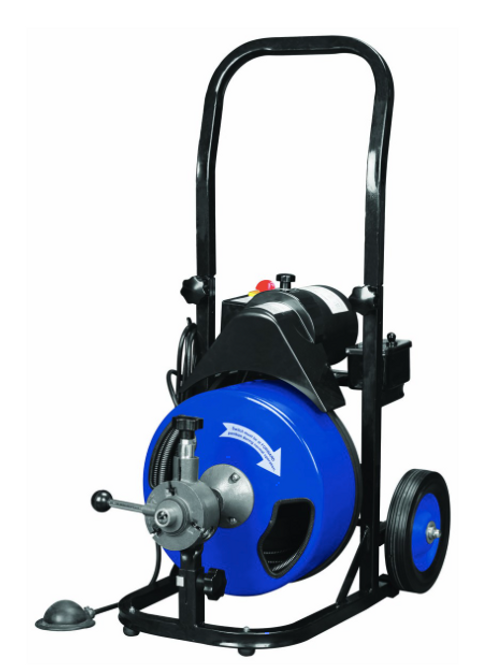 50 Foot Power-Feed Drain Cleaner