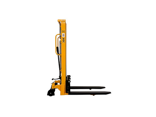 SYC118 - Hydraulic 2-Stage Mast Stacker 1000 kg (2204 lbs) + 118'' Capacity