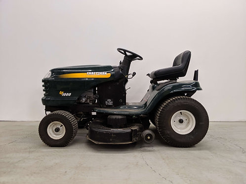 Craftsman LT1000 Riding Lawn Mower