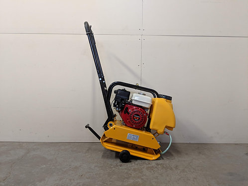 HC-90 17 Inch Commercial Honda GX160 Plate Compactor + Wheel Kit + Water Kit