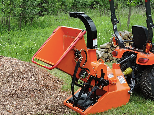 """TM-88H 8"""" PTO Wood Chipper - with Hydraulic Infeed"""