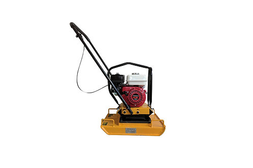 HC-100 17 Inch Commercial Honda GX160 Plate Compactor + Reversible Handle