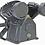 Thumbnail: 5TCCP - 5 HP 145 PSI Twin Cylinder Air Compressor Pump