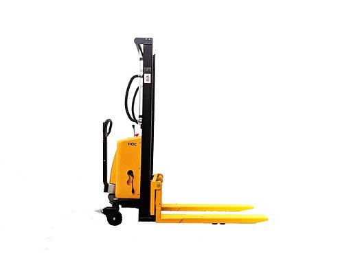 EMS1016 - Semi Electric Thin Leg Stacker 1000 kg (2204 lbs) + 63'' Capacity
