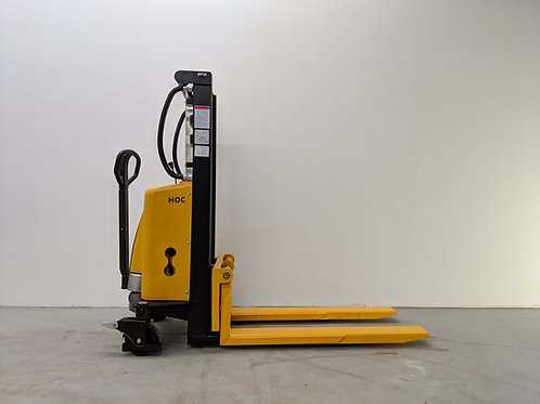 EMS1520 - Semi Electric Thin Leg Stacker 1500 kg (3307 lbs) + 78'' Capacity