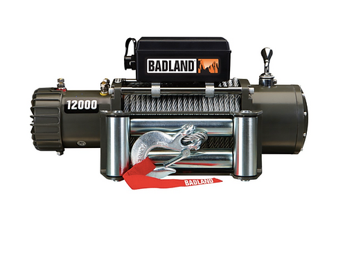 W12K- 12000 Lb Off Road Vehicle Winch