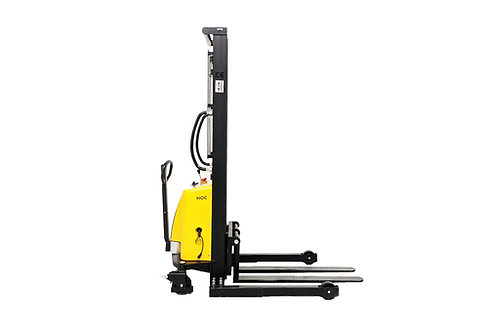 EMS1035W - Semi Electric Wide Leg Stacker 1000 kg (2204 lbs) + 138'' Capacity