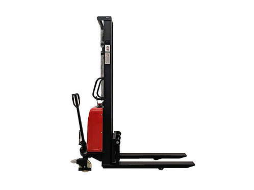 SPNT1035 - Semi Electric Thin Leg Stacker 1000 kg (2204 lbs) + 138'' Capacity