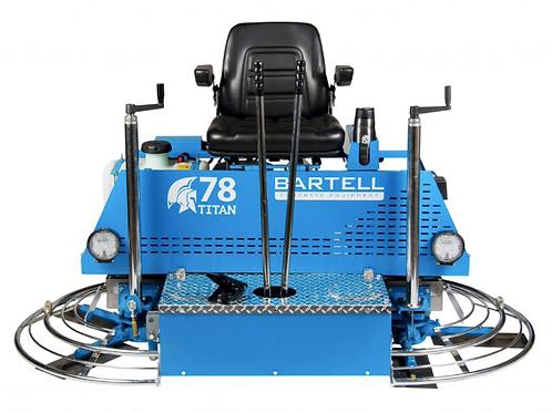 Bartell Titan 78 Ride On Power Trowel
