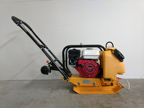HC-60 14 Inch Commercial Honda GX160 Plate Compactor + Wheel Kit + Water Kit
